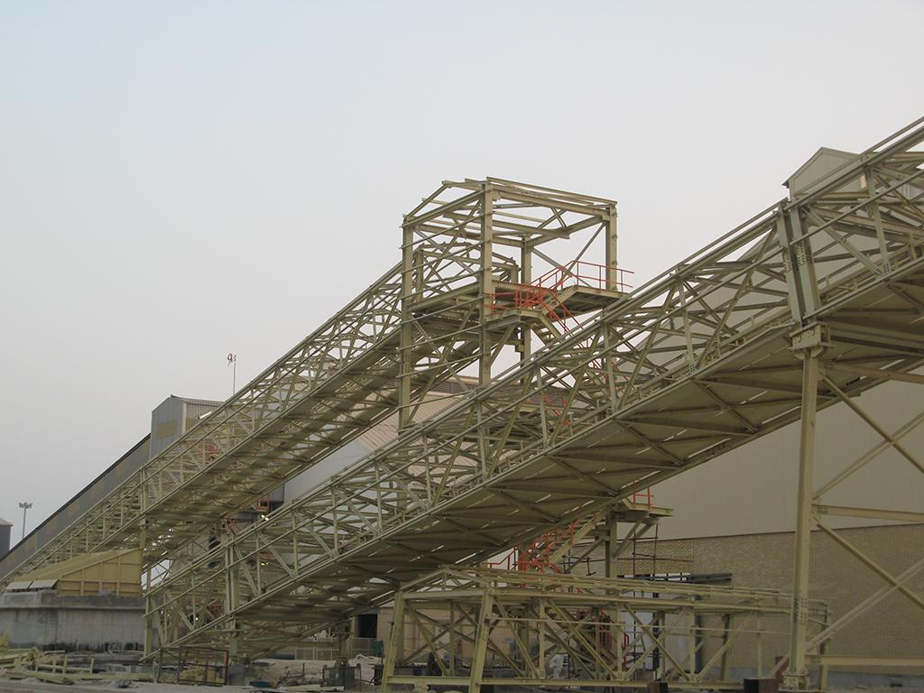 پروژه احداث انبارهای مکانیزه و تسهیلات صدور گوگرد میدان پارس جنوبی
